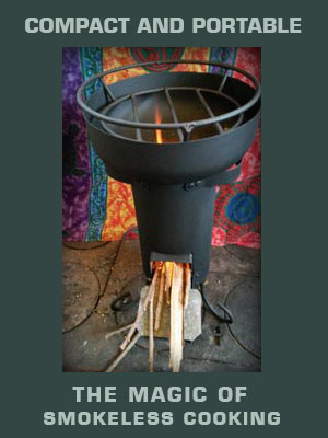 Rocket Stoves Cookers Off the grid Rocket Cooker Stove